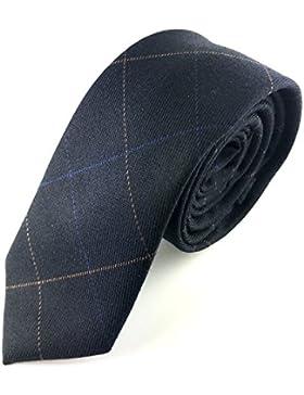 Good. Designs Hombre Slim-Fit corbata, cosida a mano de algodón en diferentes colores–estrecho de algodón corbata...