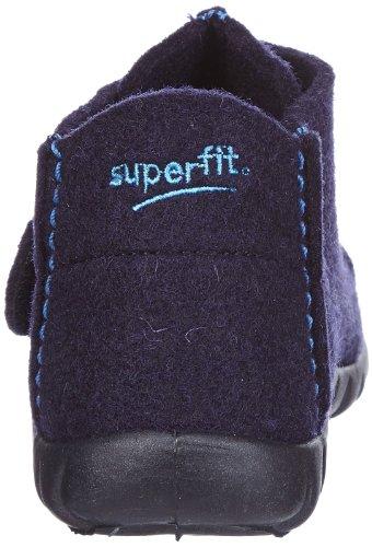 Superfit Happy 10029380 Jungen Hausschuhe Blau (ocean 80)