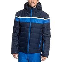 SnowEra Chaqueta de esquí, invierno, mujer, color azul oscuro, tamaño medium