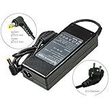 Adaptateur chargeur secteur AC Adapter pour ordinateur portable Packard Bell Easy-Note LM94 LM98 LM98-JN-033GE LS11-HR-033GE LS11-HR-050GE LX86 MH36 MH45 ML61 ML65 MT85 MX36 MX36-V-200 MX36-V-220 MX36-V-370 MX37 MX37-S-200 MX37-T-003 MX37-U-004 MX37-U-005 . Avec câble d'alimentation standard européen. De e-port24®