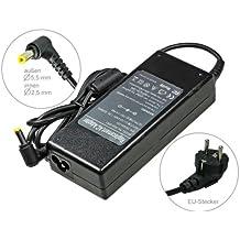 90W Alimentador Cargador Notebook AC Power compatible con Packard Bell Easy-Note MX37-U-005 MX37-U-041 MX45 MX45-T-053 MX52 NM85 NM86 NM87 NM98 NX86, con eurocable