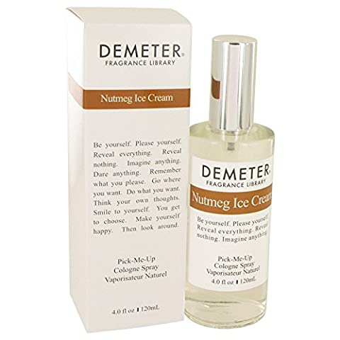 Demeter by Demeter Nutmeg Ice Cream Cologne Spray 4 oz by Demeter