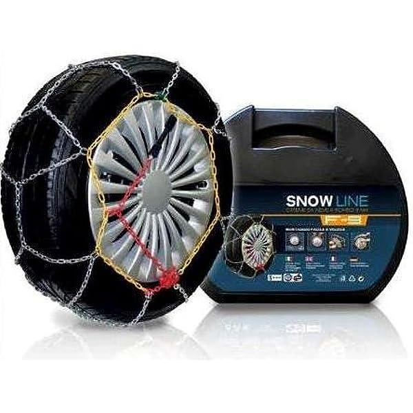 F.LLI IANNACCONE SRL Set Catene da Neve 9 MM per Auto,SUV Gruppo 2 OMOLOGAZIONE TUV E GS Italiana.