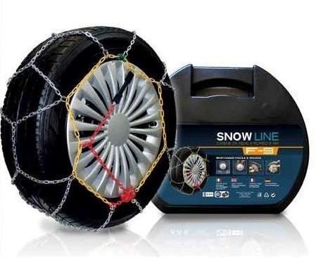 Catene da neve a rombo 9mm gruppo 95 omologate o-norm v5117