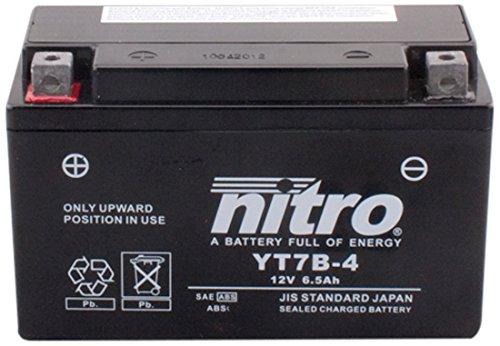YT7B-N- 4 NITRO-Batteria Moto AGM chiuso