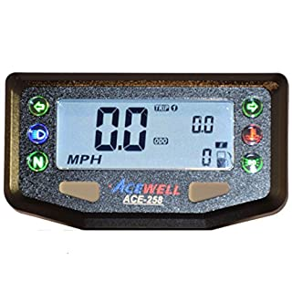 ACEWELL ACE-258 Digital Speedometer with 6 warning lamps ...