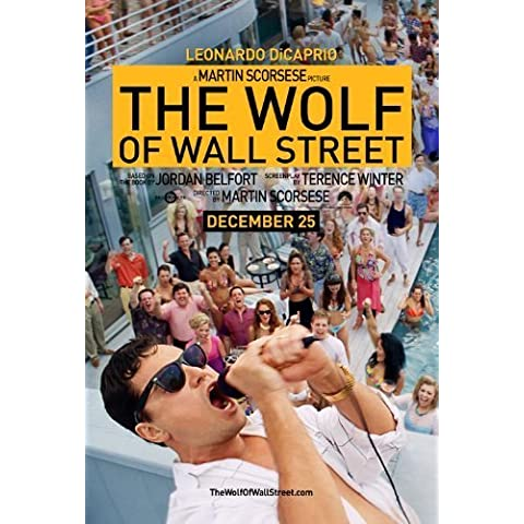 The Wolf of Wall Street (2013) 12X18 Movie Poster (THICK) - Leonardo DiCaprio, P.J. Byrne, Jon Favreau by World Mall