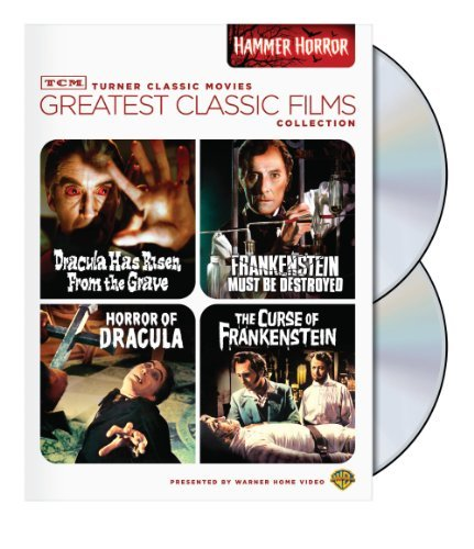 TCM Greatest Classic Film Collection: Hammer Horror (Horror of Dracula / Dracula Has Risen from the Grave / The Curse of Frankenstein / Frankenstein Must Be Destroyed) by Christopher Lee