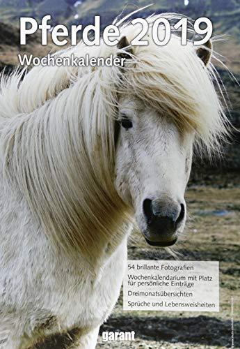 Wochenkalender Pferde 2019