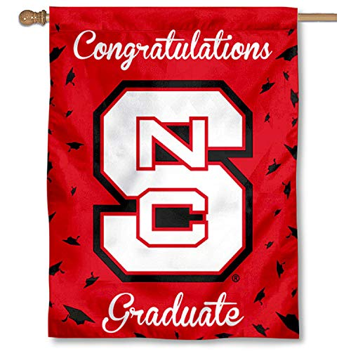 nners Co. North Carolina State Wolfpack Graduation Geschenk Banner Flagge ()