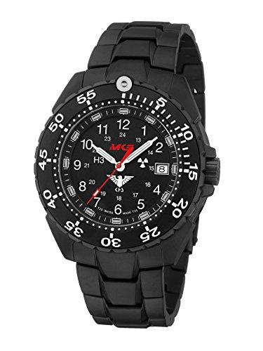 KHS Tactical Watches Enforcer Black Titan Militär Armbanduhr KHS.ENFBT.TBE