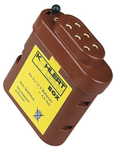Batteriebox für Puppenhaus-Beleuchtung