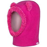 Cheeky Monkies Bambino Kids Giocoso Passamontagna, Cappello invernale caldo con cappuccio, maschera da sci scaldacollo per bambini, Pink