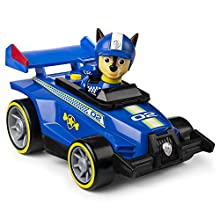 Paw Patrol 6054502 Ready, Race, Rescue, Race & Go Deluxe Vehicles with Sounds, for Kids Aged 3 Years and Over, Multicolour