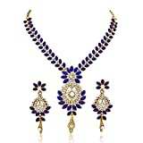 Atasi International Gold-Plated Blue Str...