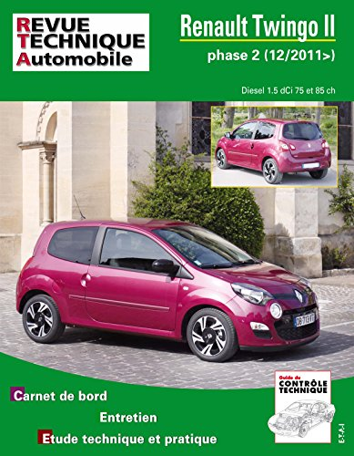 revue technique b785 Renault Twingo II ph.2 2011-12->