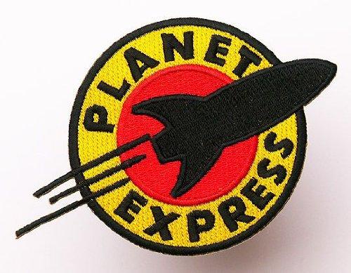 Futurama Planet Express Eisen nähen auf bestickt Patch Badge Kostüm Fancy dressapprox: 11,2cm/10,5cm x ca.: 7,6cm/7,5cm by bestickt (Futurama Kostüme)