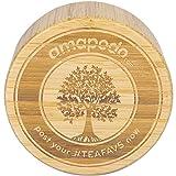 amapodo Bambus-Deckel als Ersatz für Teeflasche Trinkflasche Teebereiter