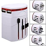 All-in-one International World Travel Adaptor USB Charger Universal - Best Reviews Guide