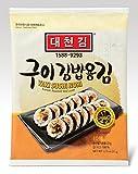 DAECHUN LAVER Sushi Nori, Mer grillée (10 feuilles complètes) Teneur en argent sac 22g...