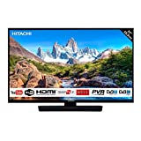 'TV Hitachi di 24 (59,9 cm)/Smart TV: Netflix, Youtube, Internet, Facebook/HD/Wifi/2 HDMI/vga-pc/USB (registratore TV + Lettore Multimedia)