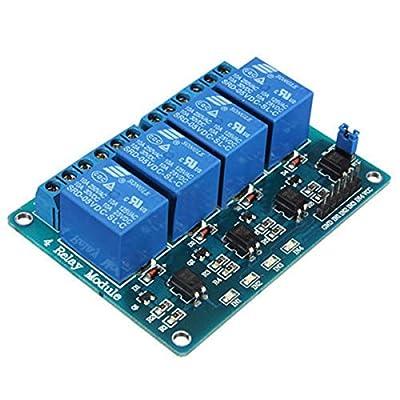 4 Kanal 5V Relay Relais Module Modul für Arduino