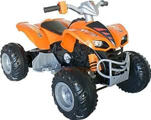 quad voiture v hicule lectrique pour enfant arti kl 789 12v orange jeux et jouets. Black Bedroom Furniture Sets. Home Design Ideas