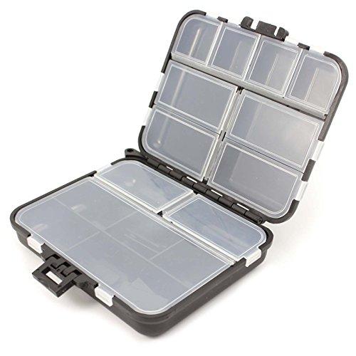 ?1 X Angelgerät wasserdichte Köder Tackle Angelhaken Bait Box Aufbewahrungskoffer mit 26 Fächer
