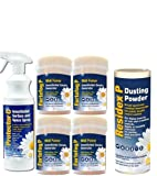 BED BUG KILLER AND TREATMENT KIT WITH FUMERS AND BED BUG SPRAY