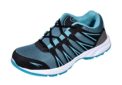 The Scarpa Shoes Men's Blue Mesh Sports Shoes (6UK)