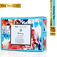 TeaTreasure Oolong Darjeeling Tea - Helps in Weight Management and Gives The Skin a Healthy Glow - 2 Teabox