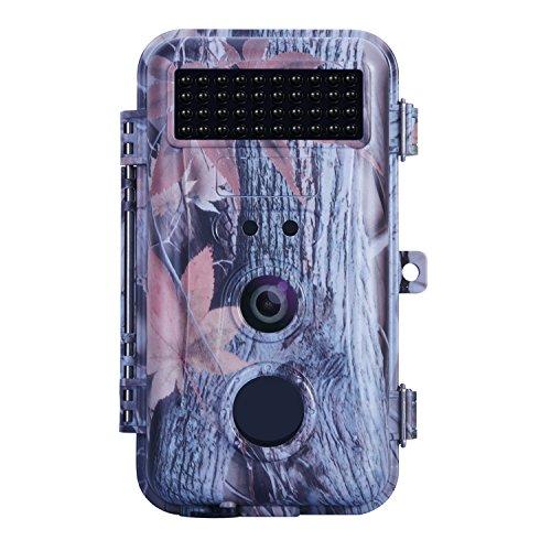 Digital Pir-cam (BlazeVideo 16MP 1080P Trail Jagd Wildlife Camera Hunter Scouting Spiel Kamera Motion Sensor Aktiviert Wasserdicht mit Nachtsicht 40pcs IR LEDs bis zu 65ft Video Record Snapshot Bunten Bildschirm)