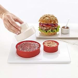 My burger Presse hamburger manuel 3 accessoires Rouge - Alinea .