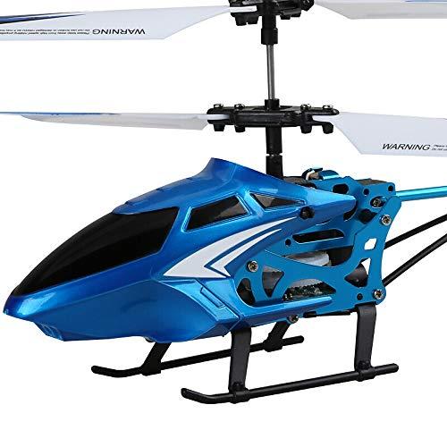 Ycco Fernbedienung Flugzeuge, RC Drone Flugzeug Spielzeug Blinklicht Stable leicht zu erlernen Good Operation Hubschrauber Jungen-Spielzeug for Kinder ab 4 Jahren Neue Mini RC 3CH Mini-RC Radio Flugze