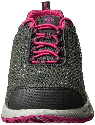 Columbia Mädchen Youth Drainmaker Iii Outdoor Fitnessschuhe Schwarz (Dark Grey/ultra Pink 089)