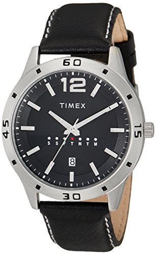 Timex Analog Black Dial Men's Watch - TW000U932