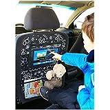 Auto asiento trasero Tablet iPad Organizador Multi Funda Protector de espalda de asiento nr 6 [007]