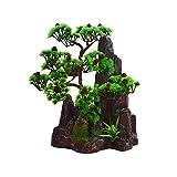 Home decoration-Artificial Bonsai Plant flower 2018 Künstliche Bonsai Baum Pflanze für Büro Zuhause Dekoration, Feng Shui Deko,Japanischer Pinien,Höhe ca.13.39