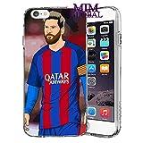 MIM Global Football Soccer Etuis Coque Case Cover Compatible pour Tous iPhone (iPhone 6 Plus/6s Plus, Barcelona)