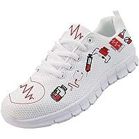 chaqlin Donna Uomo Scarpe da Corsa Leggero Morbido Sport Palestra Sneaker per Infermiere Dottore Simpatico Orso Scarpe…
