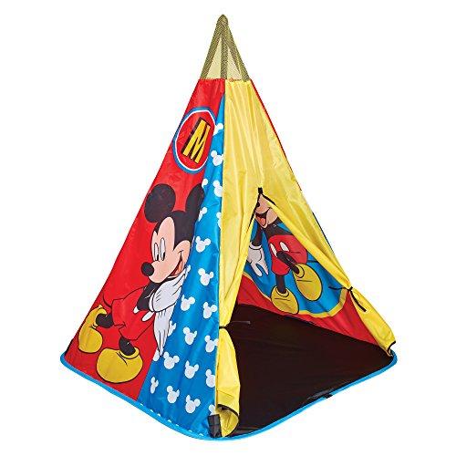 Mickey Mouse 150MIY Tipi-Spielzelt, Blau (Maus Mickey Spielzeug)
