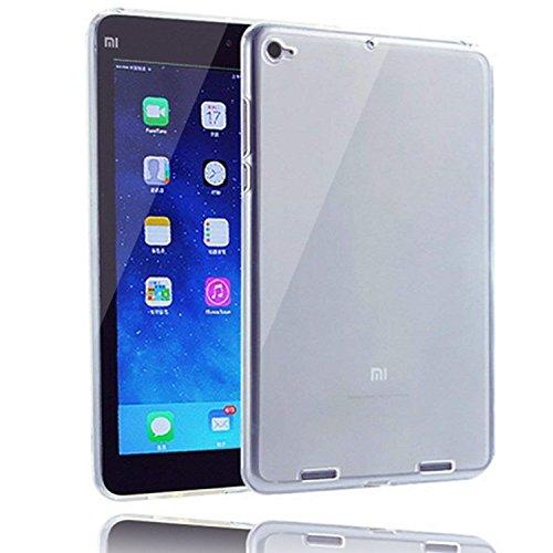 Voviqi Cover Xiaomi Mi Pad 4, Cover Xiaomi Mi Pad 4 Silicone Case Molle di TPU Trasparente Sottile Custodia per Xiaomi Mi Pad 4 – trasparente