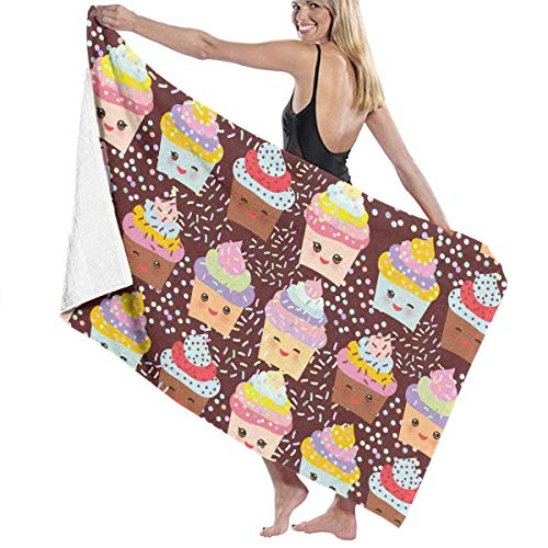 ake Adult Microfiber Beach Towel Oversized 31x51 Inch Fast Dry Eco-Friendly Multipurpose Use Beach Blanket for Women Men ()