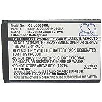 Cameron Sino 650mAh Batería LGIP-330NA para LG GB220, GB230, GD350