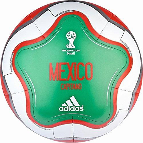 OLP CAPITANO MEXICO 2014 BRAZIL - Ballon Football Homme Adidas Vert