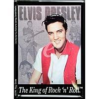 Elvis Presley King of Rockn Roll targa placca metallo piatto Nuovo 8x11cm VP288A