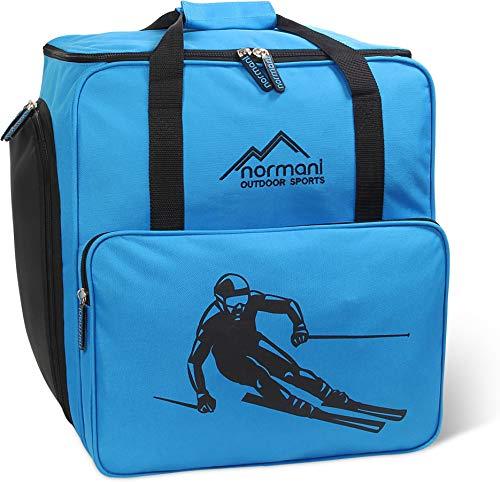 normani Skischuhtasche Helmtasche Skischuhrucksack Alpine DEPO - Limited Edition - Farbe Blau