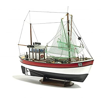 Billing Boats Facturation bateaux 1?: 60ème Rainbow Pêche Cutter modèle kit de construction