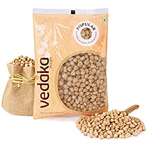 Amazon Brand – Vedaka Popular Kabuli Chana / Chhole, 1 kg