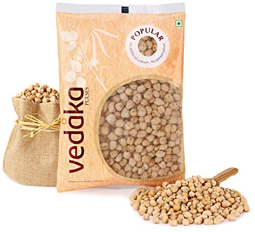 Amazon Brand – Vedaka Popular Kabuli Chana, 1kg